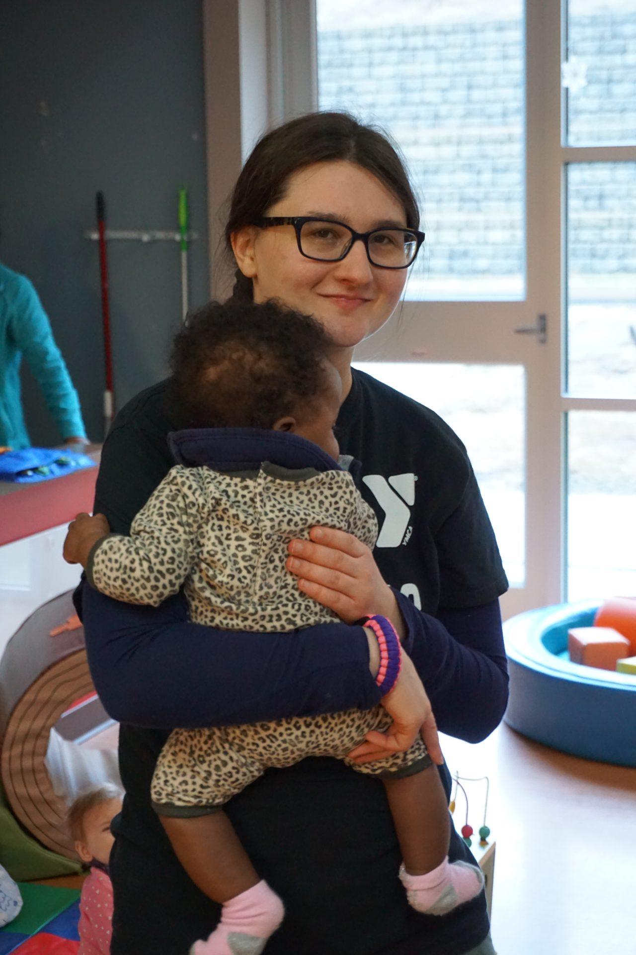 Izzy Holding Infant